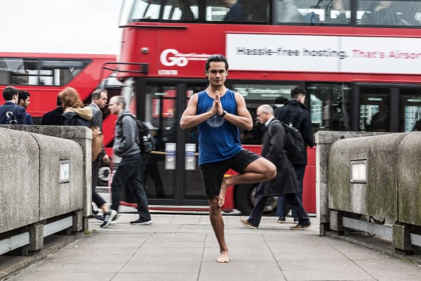 Yoga classes in London with Jeff Phenix